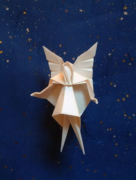 Игрушки на елку оригами  видео